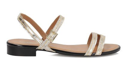 Zlote Sandaly Damskie Shoes Sandals Fashion