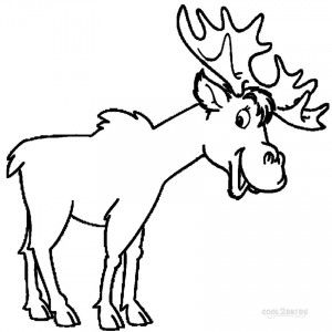 Free Printable Moose Coloring Pages Animal Coloring Pages Bear Coloring Pages Cartoon Coloring Pages