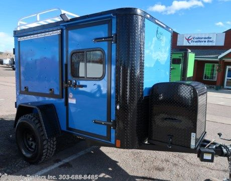 14894 2019 Cargo Craft 5x8 Off Road Cargo Trailer For Sale In Castle Rock Co Cargo Trailers Cargo Trailer Camper Cargo Trailer Conversion