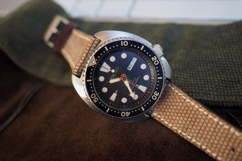 The Value Proposition: Long-Term Wear Report On The Seiko 'Turtle' SRP 775 Black And Gold