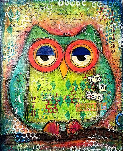Full Round Diamond Drill Embroidery Mosaic Pattern DIY Owl Picture Diamond Painting Cross Stitch Home Decoration