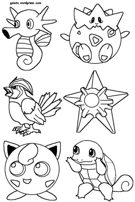 Dibujos Para Colorear Pintar E Imprimir Com Imagens Pokemon