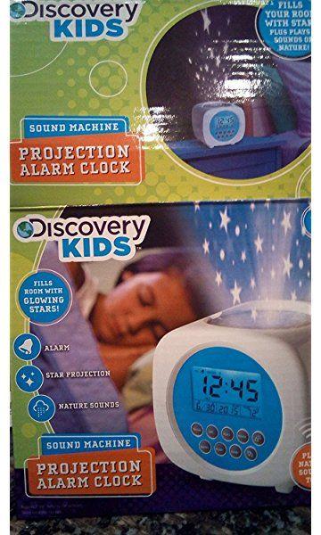 Discovery Kids Sound Machine Projection Alarm Clock Projection Alarm Clock Alarm Clock Discovery Kids