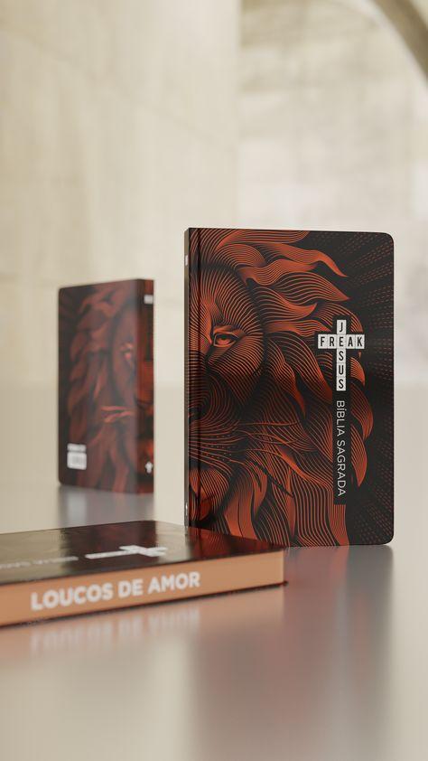 Biblia Jesus Freak Leao Bronze Capa Dura Semiluxo Versao Nvi