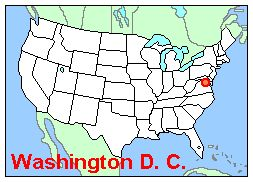 Washington DC Around The World Where Our Students Are From - Washington dc usa map