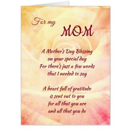 Large Mothers Day Traditional Vintage Design Card Zazzle Com