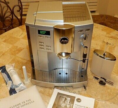 Jura S8 Moonlight Silver Full Automatic Coffee Machine Www Solino Gr