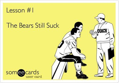 Da Bears Still Suck!