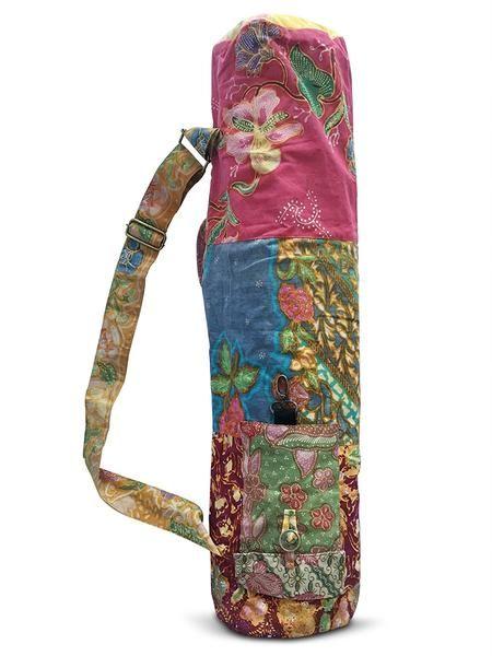 Clever Yoga Batik Cotton Yoga Mat Bag Yoga Mat Sling Yoga Mats Best Yoga Mat Bag
