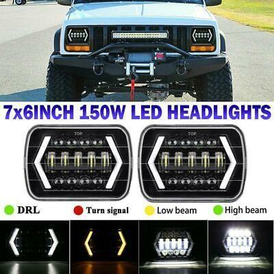 Sponsored Ebay 150w 7x6 5x7 Led Headlight Projector Beam Drl