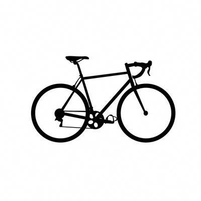 Dana Decals Tiny Bicycle Road Bike Wall Decal #bikeaccessories,mensbikes,bicycleaccessories,women'sbicycles,bestroadbikes,bikecycling,cyclingclothing,gearbicycle,bestbicycle,roadbikeaccessories,carbonroadbike