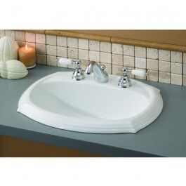 Cheviot 1375 Wh 4 Sheffield Drop In Basin With 4 Drop In Bathroom Sinks Ceramic Bathroom Sink Porcelain Bathroom Sink