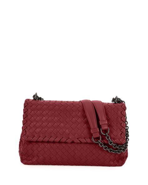 36860c75f3 Olimpia Medium Intrecciato Shoulder Bag