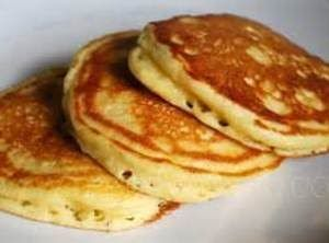 Tall Fluffy Pancakes Are Delicious Served With Butter And Syrup Or Top With Strawberries And Whip In 2020 Sour Milk Recipes Sour Milk Pancakes Recipe Using Sour Milk