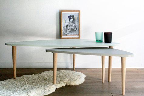 tables gigognes vintage par les jolis meubles - Table Gigogne Vintage