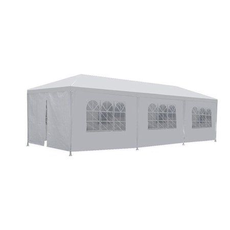 Party Tent Wedding 10 X30 Outdoor Gazebo Canopy Wedding Party Tent With 8 Removable Walls Holds 50 Buy Canopy Outdoor Canopy Tent Party Tent Wedding