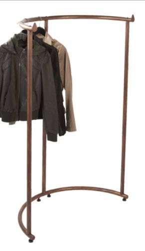 Planet Racks Retail Half Round Clothing Display Copper Ebay Clothing Displays Clothing Rack Clothes