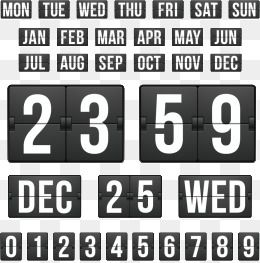 Countdown Template Time Date Countdown Png And Vector With Transparent Background For Free Download Templates Countdown Countdown Clock
