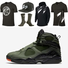 "SNEAKERFITS: Clothing to Match the Air Jordan 8 ""Take Flight"""