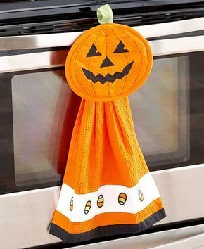 2-Pc  Halloween Kitchen Sets | Sewing Projects {Halloween