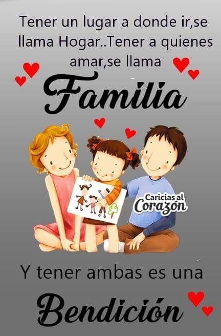 La Familia Es Bonita Gudelia Santana Familia Feliz Frases