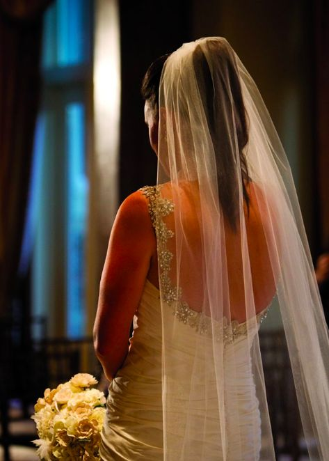 High Ponytail With Veil Wedding Highponytail Veil With Images