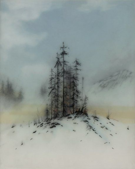 Hidden Sails By Brooks Salzwedel Landscape Drawings Abstract