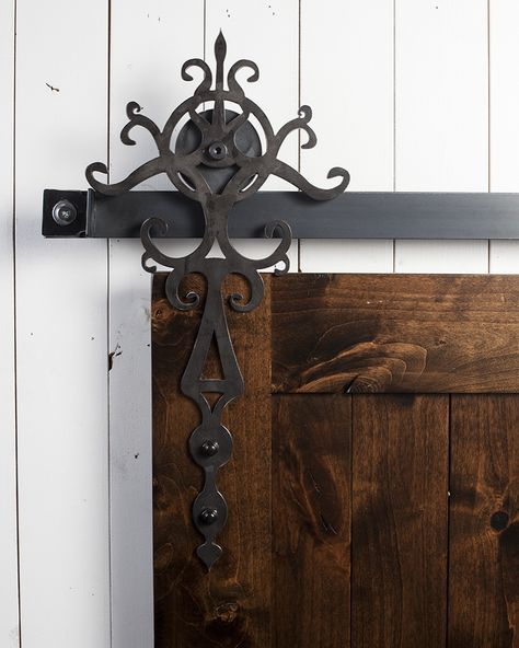 Roll out the red carpet ... with our new Royal Barn Door Hardware! http://rusticahardware.com/royal-barn-door-hardware/