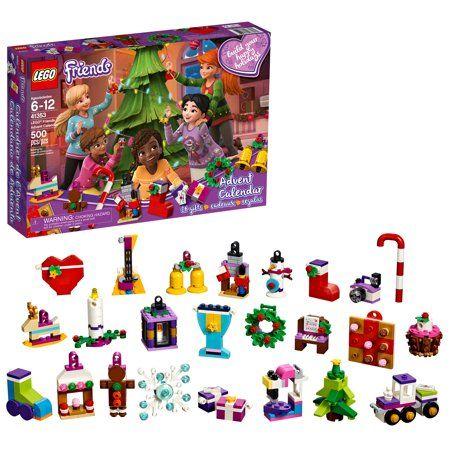 Lego Countdown To Christmas Lego Friends 2020 Set Lego Friends 41353 24 Day Advent Calendar Holiday Box   Walmart