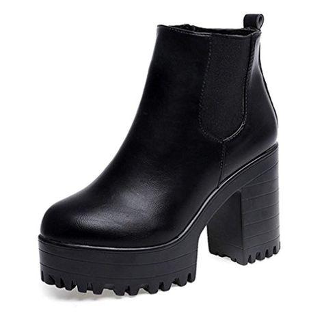 footwear super specials authentic OverDose Femme Bottines Hiver Bottines Chelsea Hautes ...