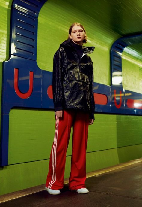 adidas Highlights head to Berlin for a future-vintage style shoot of the brands…
