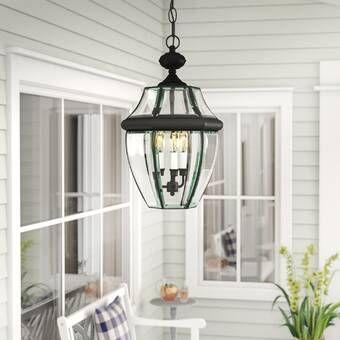 Charlton Home Weisberg 1 Bulb 12 75 H Outdoor Hanging Lantern Reviews Wayfair In 2021 Outdoor Hanging Lights Outdoor Hanging Lanterns Hanging Lanterns