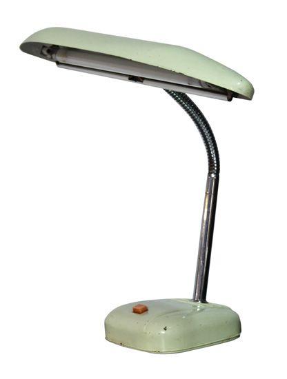 Vintage 1950 S 60 Desk Lamp The Old Cinema Antique Retro Lighting Pinterest Desks And