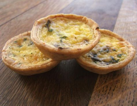 Make Your Own Mini-Quiches Ahead...They Freeze Beautifully