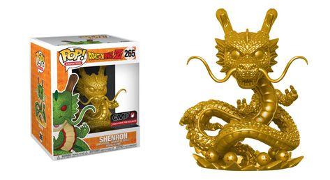 Findet Alle 7 Dragonballs Und Eure Wunsche Werden Wahr Der Goldene Shenlong Ist Online Als Oversize Funko Pop Figuren Pop Vinyl Figuren Funko Pop Figuren