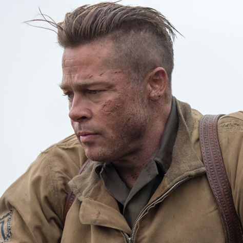 The Best Brad Pitt Haircuts Hairstyles Ultimate Guide Fury Haircut Brad Pitt Fury Haircut Brad Pitt Haircut
