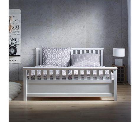Stilvolles Bett im Landhausstil in Weiß - ein Ort zum Wohlfühlen - möbel höffner schlafzimmer