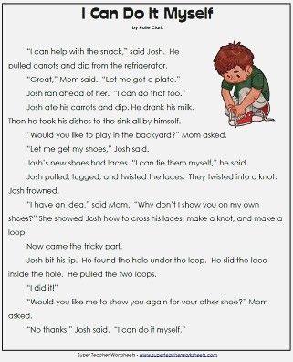 1st Grade Reading Prehension Worksheets Reading Comprehension