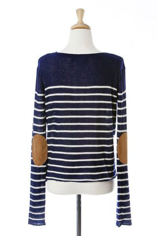 boyfriend sweater - love the elbow patches!