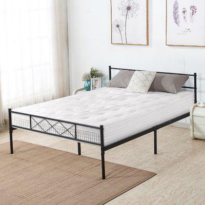 Alcott Hill Ledford Metal Platform Bed Frame Size Full In 2020
