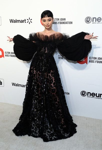 Alexa Demie Photos - Alexa Demie walks the red carpet at the Elton John AIDS Foundation Academy Awards Viewing Party on February 2020 in Los Angeles, California. - IMDb LIVE Presented By M&M'S At The Elton John AIDS Foundation Academy Awards Viewing Party Fashion Show Dresses, Elton John Aids Foundation, Prom Outfits, Vanity Fair Oscar Party, Iconic Women, Red Carpet Looks, Red Carpet Dresses, Woman Crush, Girl Crushes