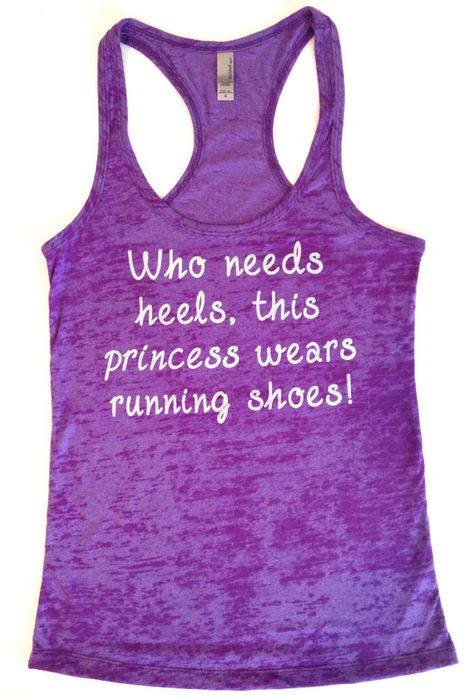 Womens Running Shirt // Who Needs Heels by AbundantHeartApparel, $26.00