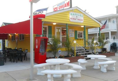Hassles Ice Cream In North Wildwood New Jersey With Images North Wildwood Wildwood Pennsylvania Travel