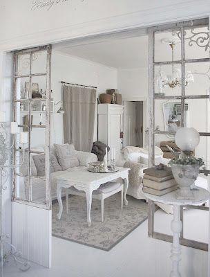Sauder Eden Rue 3 Shelf Accent Bookcase In White Plank Shabby