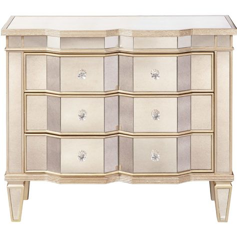 Nora Mirrored Chest Joss Main With Images Mirrored Chest