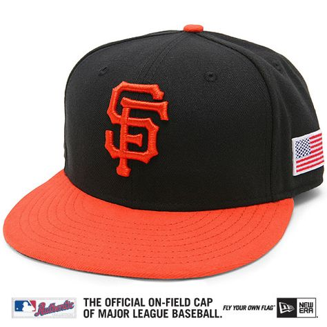 7d301a5bf San Francisco Giants Authentic Alternate Performance 59FIFTY On-Field Cap  w US Flag Patch - MLB.com Shop Size 8