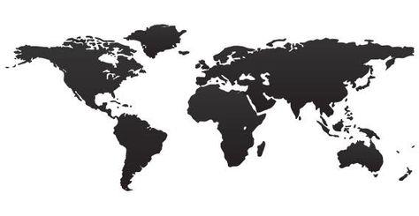 Carte Du Monde Noir.Download Carte Du Monde En Noir Vector For Free Black Map