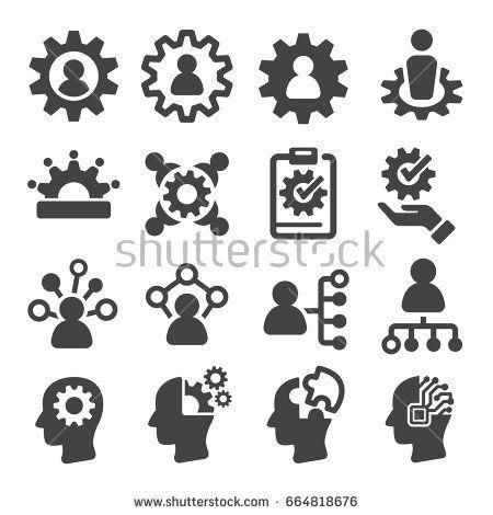 Ability Skill Icon Letter Logo Inspiration Stock Illustration Stock Vector