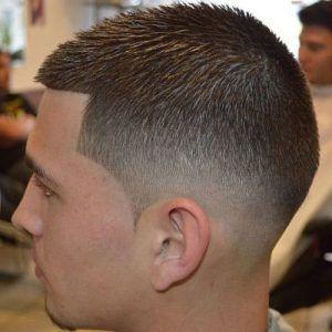 Mid Fade Haircut 2 300x300 Mens Haircuts Fade Mid Fade Haircut Faded Hair