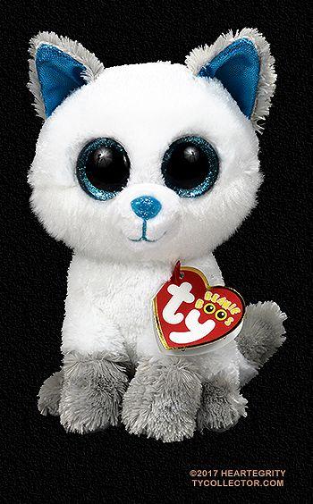 Frost Arctic Fox Ty Beanie Boos Beanie Boo Dogs Ty Beanie Boos Ty Stuffed Animals